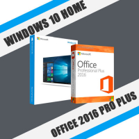Windows 10 Home + Office 2016 ProPlus