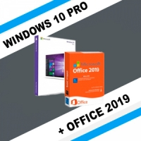 Windows 10 Pro + Office 2019 ProPlus