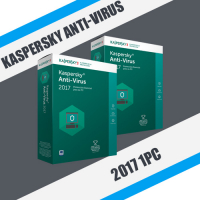 Kaspersky Anti-Virus 2017 1PC