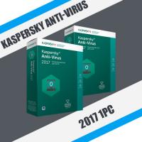 Kaspersky Anti-Virus 2017 2PC Как новый!