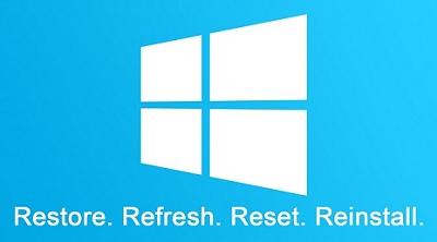 Функция «Начать заново» в Windows 10