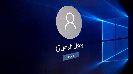 Гостевая учётная запись в Windows 10
