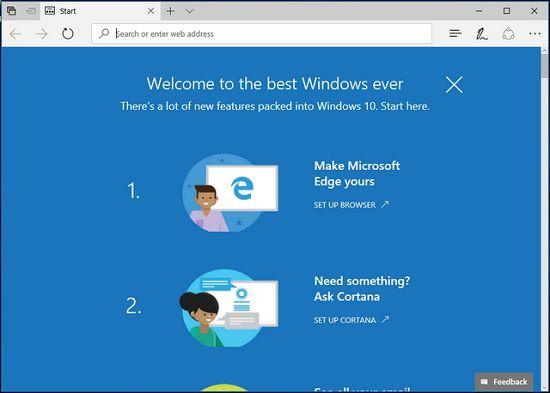 Как отключить открытие приветственной страницы в Windows 10
