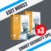 ESET NOD32 Smart (internet) Security 3PC