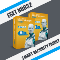 ESET NOD32 Smart Security Family 2 ГОДА / 1PC