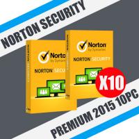Norton™ Security Premium 2015 10PC