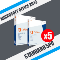 Microsoft Office 2013 Standard 5ПК