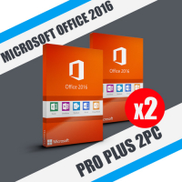 Microsoft office 2016 pro plus 2PC