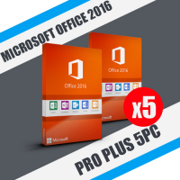 Microsoft office 2016 pro plus 5PC