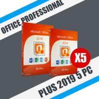 Microsoft Office 2019 Pro Plus 5 ПК