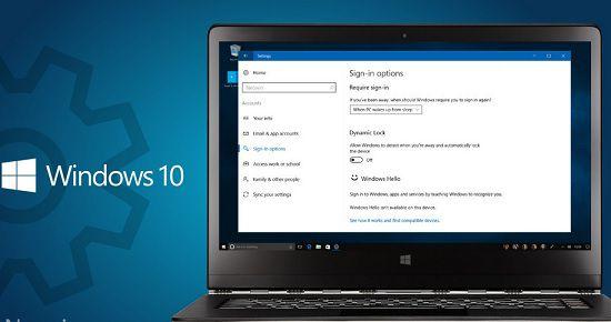 Ошибка Dynamic Lock в Windows 10