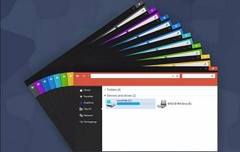 Переключение между темами в Windows 10