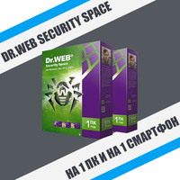Dr.Web Security Space.1PC/1device