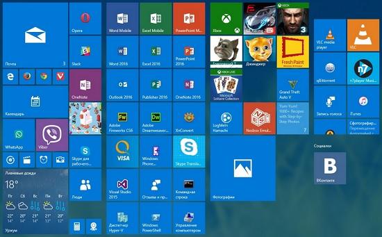 Сортировка и создание «живых» папок в Windows 10