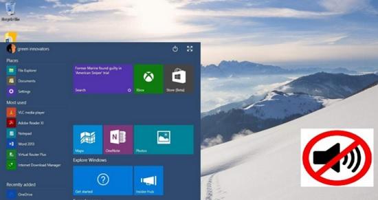 Включить звук приветствия при старте Windows 10
