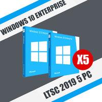 Windows 10 Enterprise LTSC 2019 5 ПК