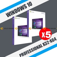 Windows 10 Professional (x32-x64) 5PC