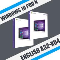 Windows 10 Professional N English (x32-x64)
