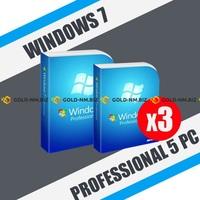 Windows 7 Professional 3пк