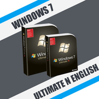 Windows 7 Ultimate N English (x32-x64)