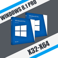Windows 8.1 Professional (x32-x64)