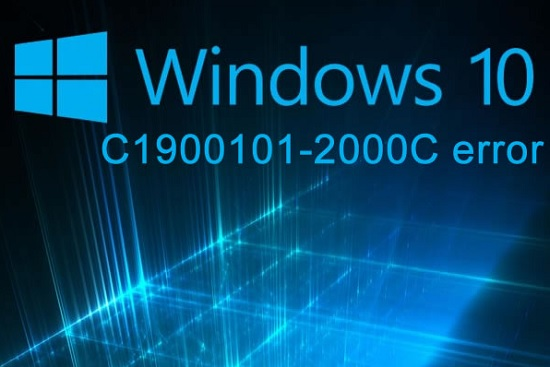 Windows 10 - ошибка c1900101-2000c